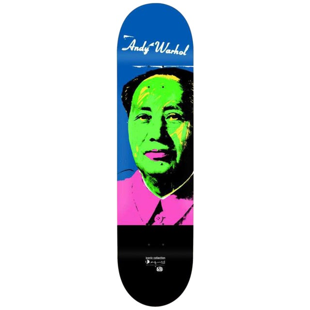 Andy Warhol Mao Skateboard Deck - Image 1 of 2