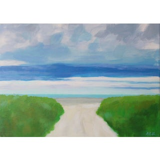 Beach Path by Anne Carrozza Remick For Sale