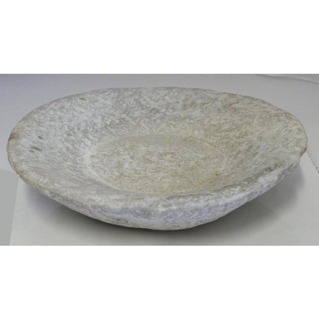 Hand-Carved Stone Bowl For Sale In Palm Springs - Image 6 of 6