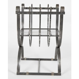 Neoclassical Style Iron Curule Form Benches Preview