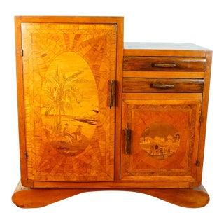 Vintage Art Deco Cabinet For Sale