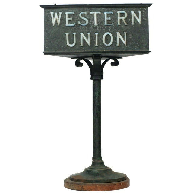 Rustic Western Union Countertop Lamp - Image 2 of 8
