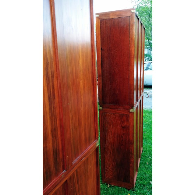 Starbay Rosewood Marco Polo Bookshelf Bookshelves - a Pair For Sale - Image 6 of 12