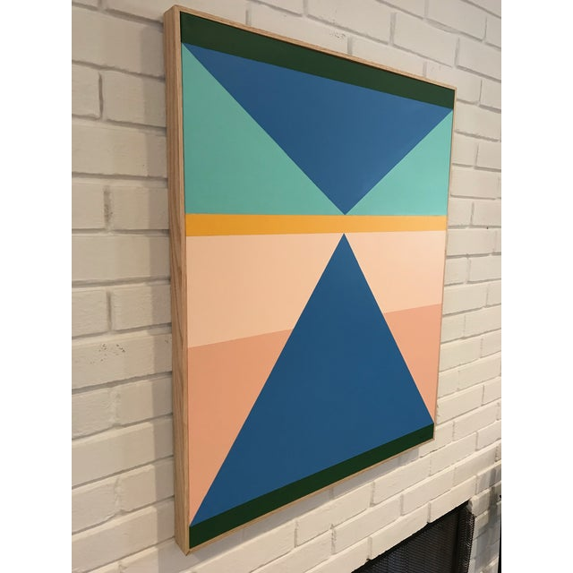 Colorful Modern Painting By Artist Tony Curry - Image 2 of 5