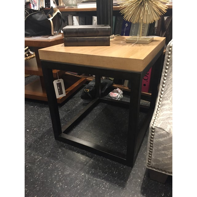 Lexington Seal Beach Lamp Table For Sale In Chicago - Image 6 of 8