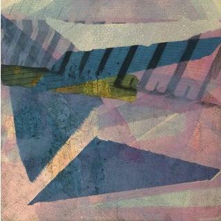 Kismine Varner, American Modern Art - Blue For Sale