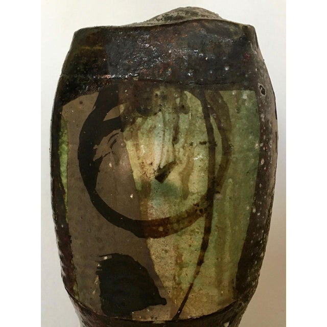 Brutalist Art Pottery Vase - Image 5 of 7