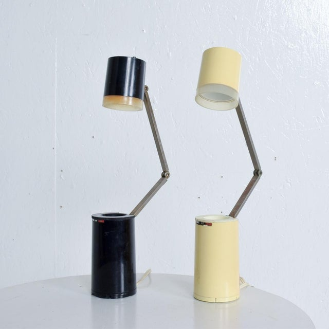 Pair of Lloyds Task Table Lamps, Mid Century Modern For Sale - Image 9 of 10