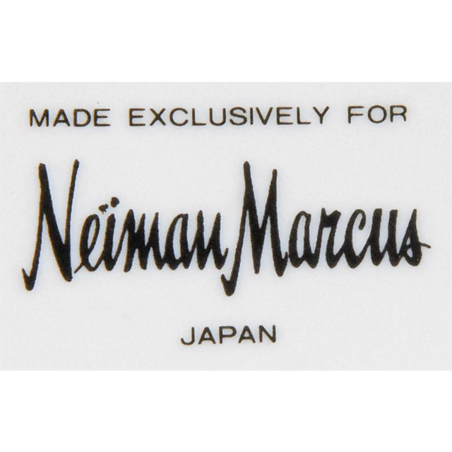 1980s Vintage Neiman Marcus Emerald Green Malachite Serving Plate For Sale - Image 5 of 10