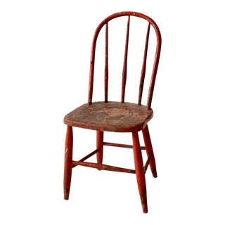 Vintage Children's Spindle Back Chair