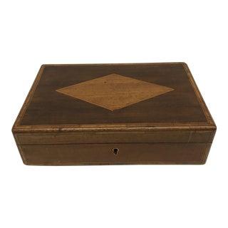 19th C. English Mahogany Box