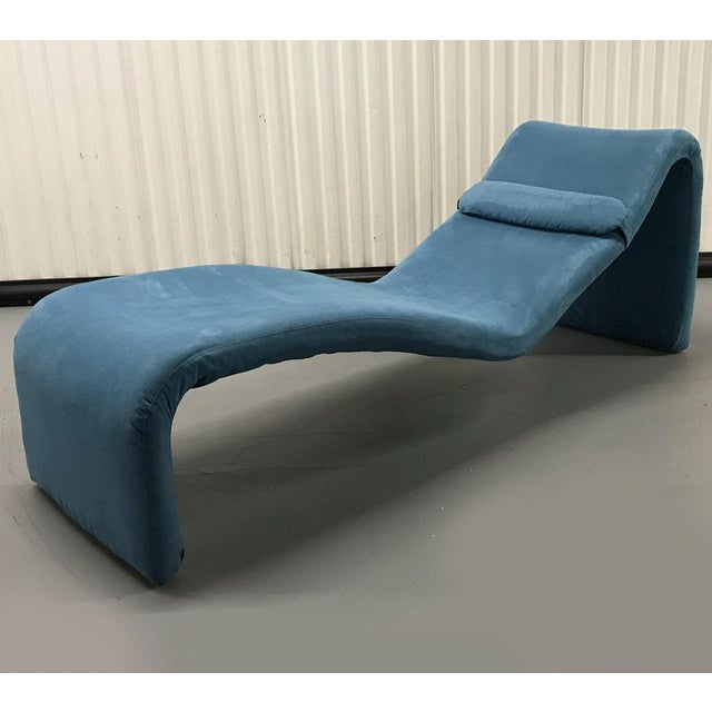 Boho Chic Vintage Djinn Chaise by Olivier Mourgue for Airborne For Sale - Image 3 of 11