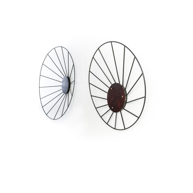 Kalos Contemporary Steel Wall Sculpture Installation by Topher Gent For Sale In Providence - Image 6 of 8