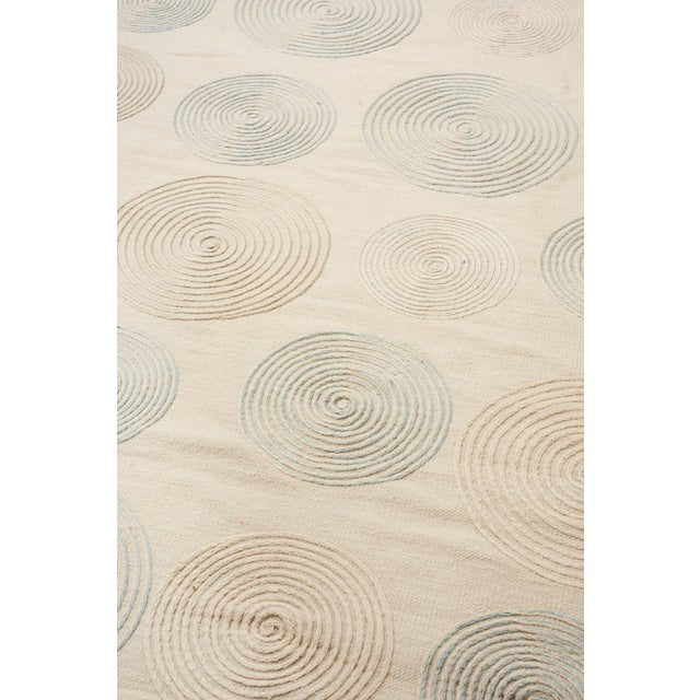 Contemporary Schumacher Whirlpool Area Rug in Hand-Woven Wool, Patterson Flynn Martin For Sale - Image 3 of 7