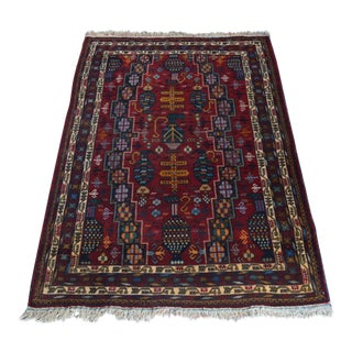 Afghan Hand Knotted Tribal Rug For Sale
