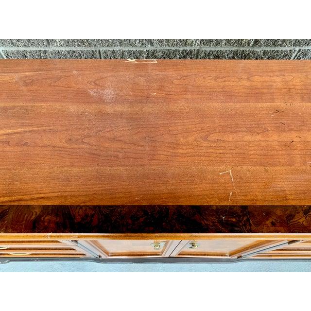 Vintage Oriental Nine Drawer Dresser For Sale - Image 11 of 13
