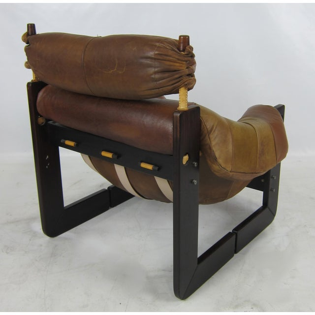 Rosewood Lounge Chair by Percival Lafer For Sale In San Francisco - Image 6 of 7