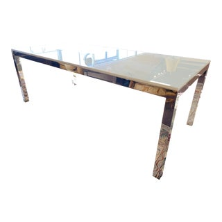 Contemporary Mitchell Gold Parsons Dining Table For Sale