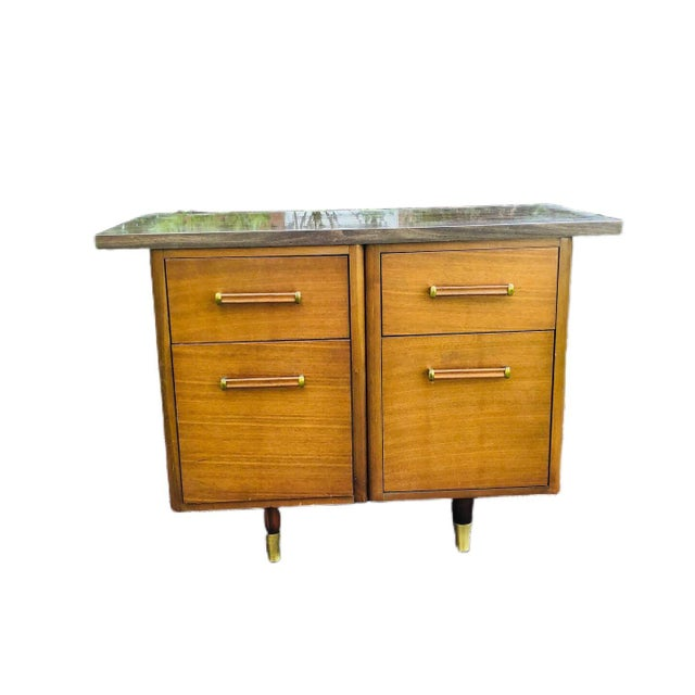 Mid-Century Modern Custom Made Filing Cabinet/Credenza For Sale - Image 11 of 11