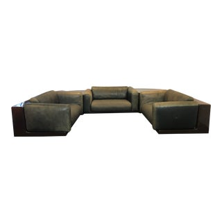 Cini Boeri Gavina Knoll 5 Piece Sectional For Sale