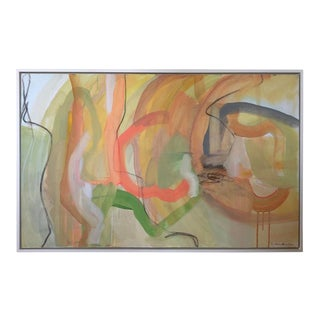 Sally King Benedict Modern Abstract Painting For Sale
