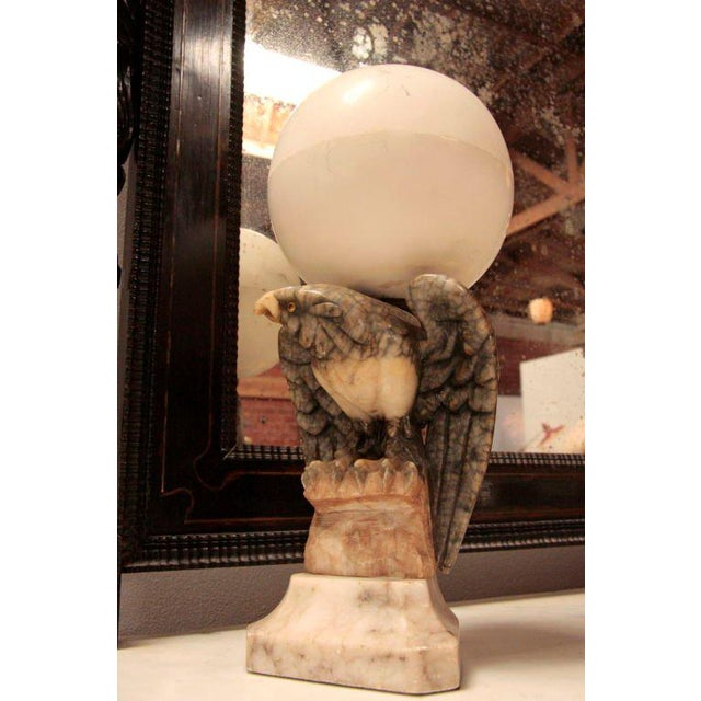 Marble Marble Eagle Light For Sale - Image 7 of 8