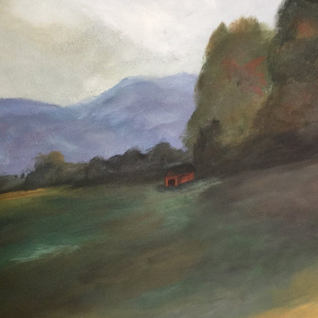 Contemporary 'Southern Clouds' Original Painting For Sale - Image 3 of 7