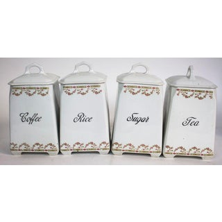 Victoria Czechoslovakia China Canisters - Set of 4 Preview