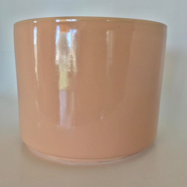Gainey Mid Century Modern Pink Tabletop Planter - Image 2 of 9