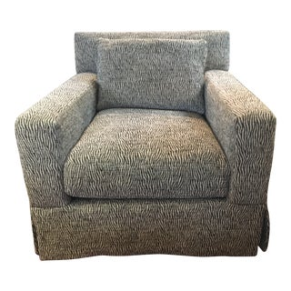 Modern Lee Industries Club Chair For Sale
