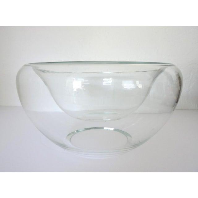 Large Hand Blown Double Glass Bowlvase Chairish