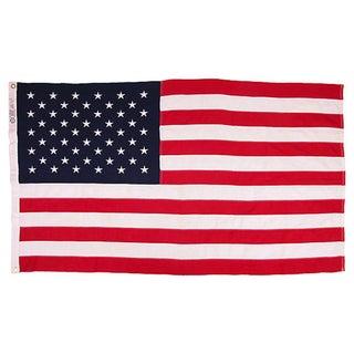 Vintage 50 Star US Flag For Sale