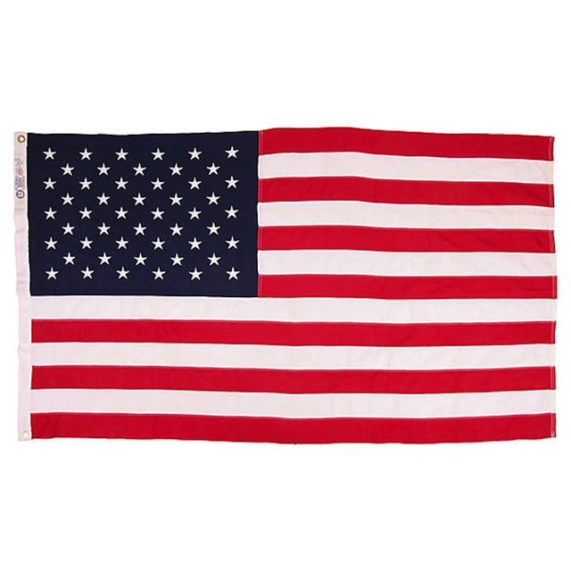 Vintage 50 Star US Flag - Image 1 of 2