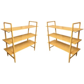 1950s Edmond Spence Swedish Mid Century Bookshelf For Sale