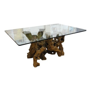 1970's Grapevine Dining Table