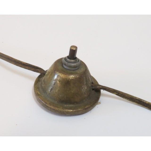 Modern Brass Floor Reading Lamp - Image 6 of 6