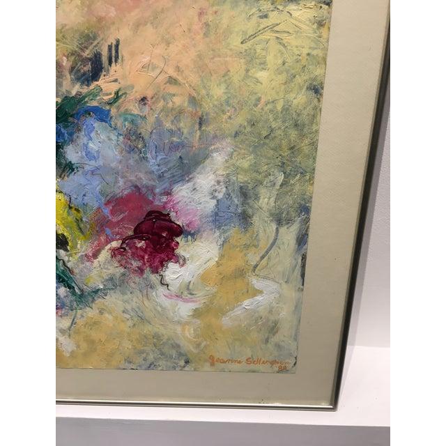 """""""Heaven's Door"""" Abstract Painting - Image 3 of 6"""