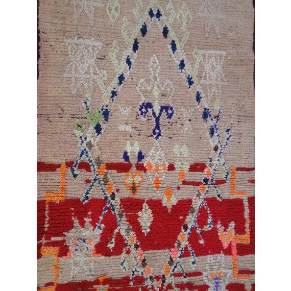 Vintage Moroccan Berber, Azilal Rug - 2′9″ × 7′ - Image 5 of 6
