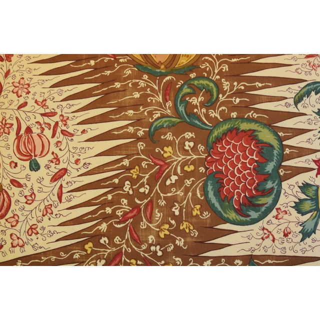 """English French Pierre Frey La Riviere Feather/Down Pillow 22"""" X 16"""" For Sale - Image 3 of 8"""