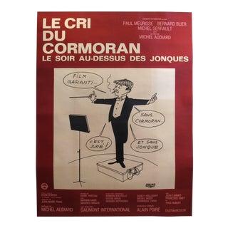 1970s Original French Film Poster - Le Cri Du Cormoran For Sale