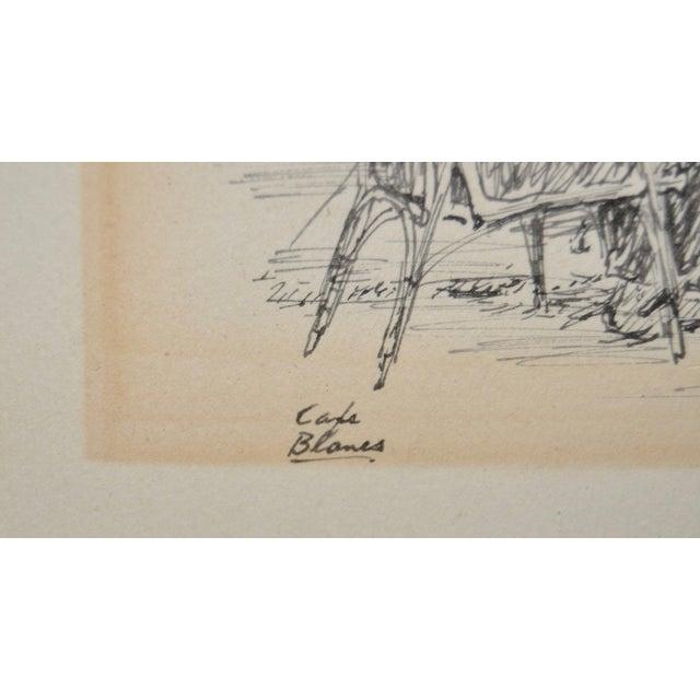 Original Pen & Ink Drawing by Warren Brandt For Sale - Image 5 of 7