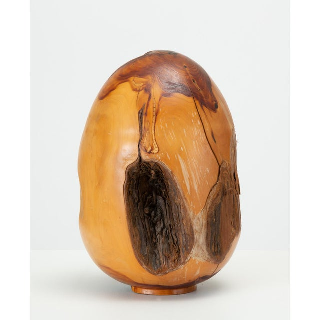 Single Turned Wood Object by Chuck McLaughlin For Sale - Image 4 of 13