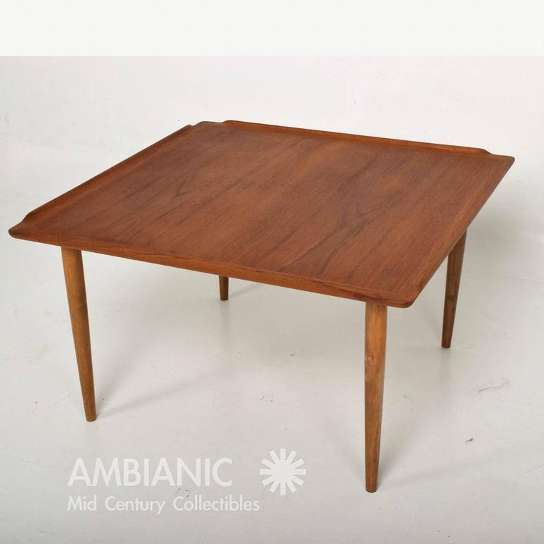 WorldClass Selig Danish Modern Teak Coffee Table DECASO