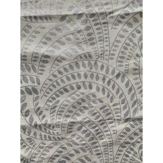 2 Yards Lee Jofa Threads Meander Metallic Fabric For Sale