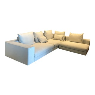 Modern 3-Piece Modular Sofa / Sectional For Sale