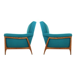 Pair of Lounge Chairs by Kroehler For Sale