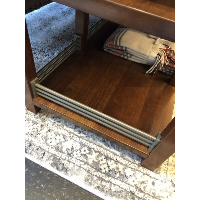 Arts and Crafts Sunset Hills Collection Borkholder Cherry Console Table For Sale In Chicago - Image 6 of 10