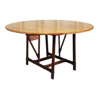 Heywood-Wakefield Ashcraft Dining Table 017d For Sale
