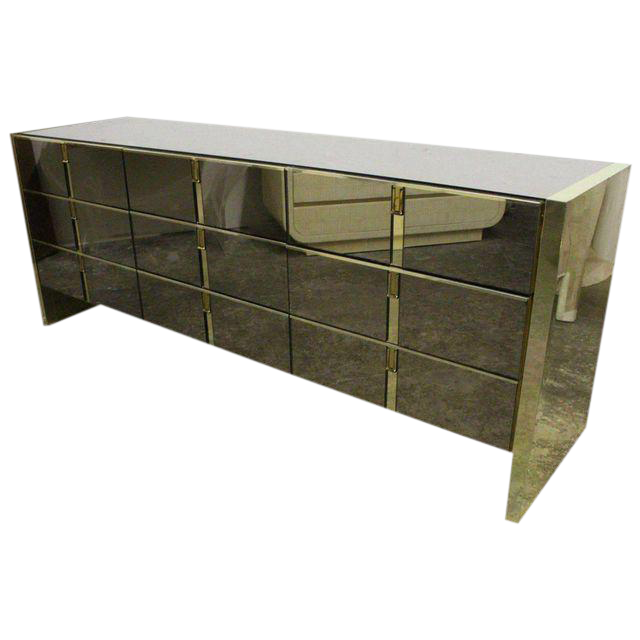 Ello Bronze And Mirror Dresser