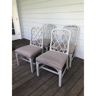Hickory Furniture Linwood Chippendale Chairs- Set of 4 Preview